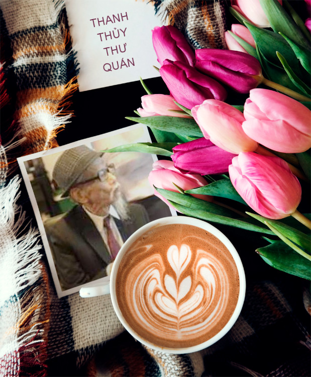 PhotoFunia Coffee and Tulips Regular 2019 04 07 12 00 58